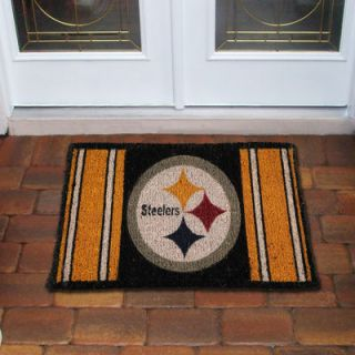 Pittsburgh Steelers 18 x 30 Coir Welcome Mat