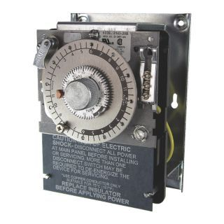 PARAGON Defrost Timer Control, 208/240VAC Voltage, Defrost Time (Minutes): 4 to 110   Defrost Timer Control   26X383|8145 20B