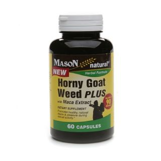 Natures Bounty Horny Goat Weed with Maca, Capsules