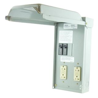 GE 40 Amp Overhead Temporary Power Panel