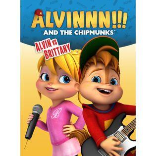 Alvinnn!!! and the Chipmunks: Alvin vs. Brittany (DVD)   TVs