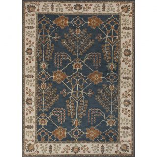 Poeme Hand Tufted Blue/Ivory Area Rug by JaipurLiving