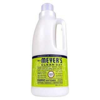 Mrs. Meyers Lemon Verbena Scented Fabric Softener 32 oz