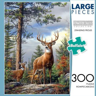 Buffalo Games & Puzzles 300 Piece Family Puzzle Standing Proud   Toys