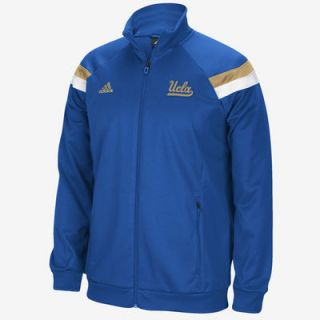 UCLA Bruins adidas Football Sideline Anthem Warm Up Jacket   True Blue