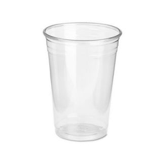 Dixie 10 oz Clear Cold Plastic Cup Wise size Pack