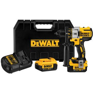 DEWALT 20 Volt Max Lithium Ion (Li ion) 1/2 in Cordless Brushless Drill with Battery and Hard Case