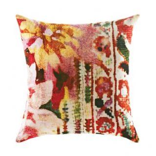 "Poetic Wanderlust Tracy Porter Leandre Floral Print Pillow, 18"" x 18"""