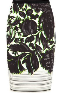Erin printed stretch crepe skirt  Peter Pilotto