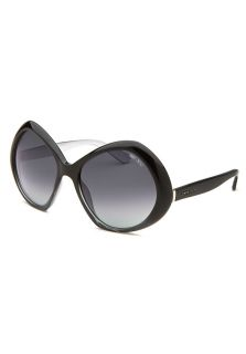 Women's Angy Butterfly Black & Silver Tone Sunglasses