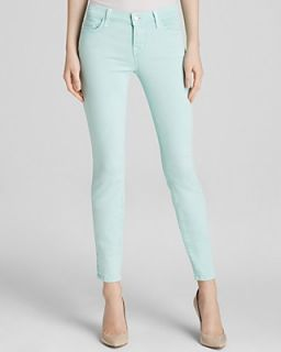 J Brand Jeans   Photo Ready Low Rise Ankle Crop in Sea Green