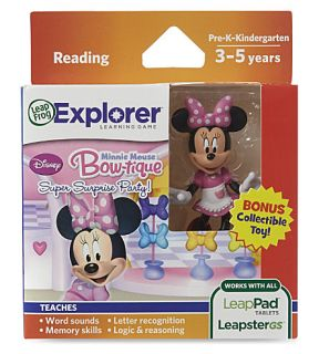 LEAP FROG   Minnie Mouse Bow tique Leappad Tablets game