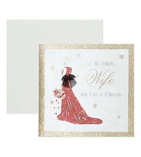 FIVE DOLLAR SHAKE   To my Darling Wife Christmas card