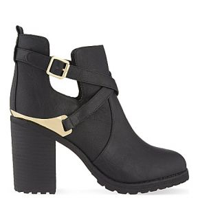 MISS KG   Bonjour block heel ankle boots