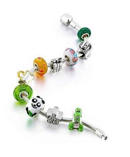 Bling Jewelry Bling Jewelry Kids Birthday Beads Bracelet Fits Pandora Charms Sterling Silver (365116801)