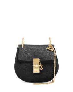Chloe Hudson Leather Double Carry Bag, Black