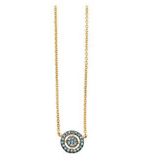 ASTLEY CLARKE   Mini Icon Aura 14ct yellow gold and diamond pendant necklace