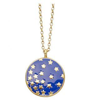 ASTLEY CLARKE   Mood Indigo Starshower 18ct gold vermeil necklace