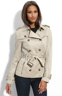 Miss Sixty Ruffle Back Trench