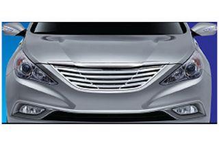 2011, 2012, 2013 Hyundai Sonata Bar Billet Grilles   ProZ SGB11360   ProZ Premium Bar Grille