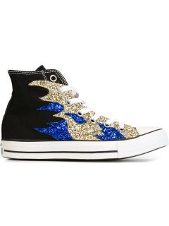Converse Sequin Flame Sneakers   Excelsior Milano