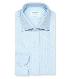 EMMETT LONDON   140s Slim fit cotton twill shirt