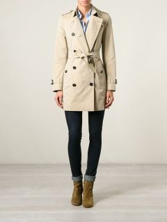 Burberry Double Breasted Trench Coat    Michael Meyer Kampen
