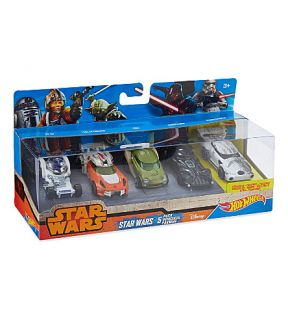 HOT WHEELS   Star Wars vehicles five pack