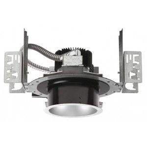 "Cree Lighting KR4 20L 35K 120V 10V EB7 LED Downlight, 4"" Recessed 120V 3500K 0/1 10V Dimming w/Emergency Backup   2000 Lumens"