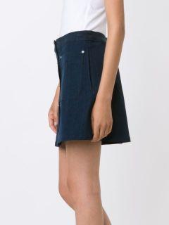 Rag & Bone Patch Pocket Denim Skirt   Angela's