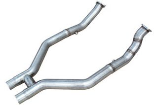 2011, 2012, 2013 Ford Mustang Crossover Pipes and Collectors   Pypes HFM24   Pypes H Pipe Kits