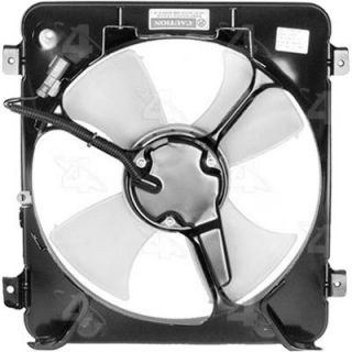 1996 2000 Honda Civic Cooling Fan Assembly   FOUR SEASONS, Direct Fit, Plastic, A/C Condenser Fan
