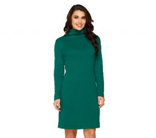 Liz Claiborne New York Petite Essentials Long Sleeve Dress —