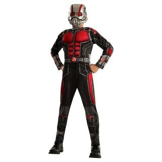 Boys Marvel Ant Man Muscle Costume