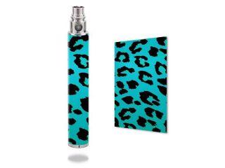 Skin Decal Wrap for Vision Spinner VV 1300 mod sticker vape Teal Leopard
