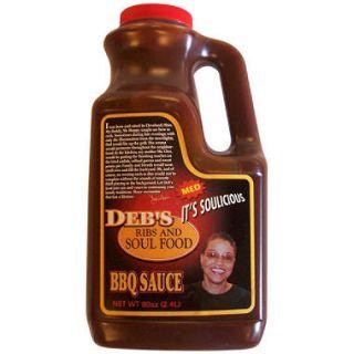 Debs Ribs and Soul Food BBQ Sauce   80 oz.