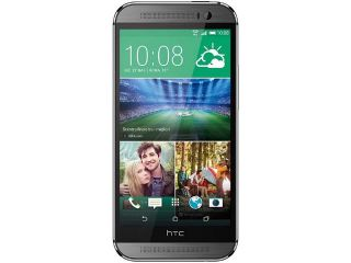 "HTC One M8 32GB 4G LTE Grey 32GB Unlocked GSM Android Cell Phone U.S. Version 5"" 2GB RAM"