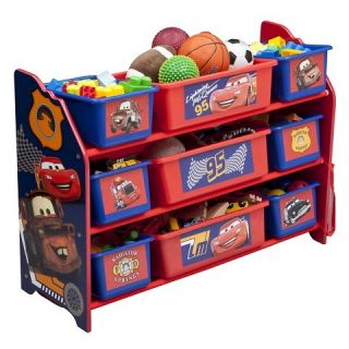 Bin Plastic Toy Organizer Disney Pixar Cars   Delta Children