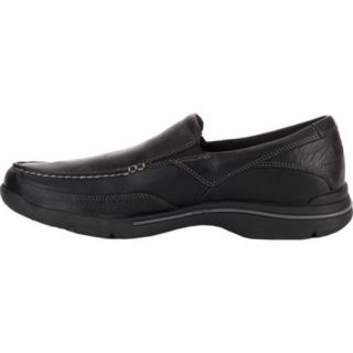 Mens Rockport City Play Eberdon Black Leather/Flint Leather