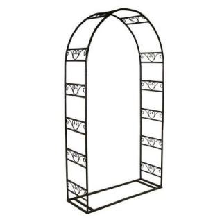 Oakland Living 88 in. x 48 in. Single Arbor with Base 5007 HB