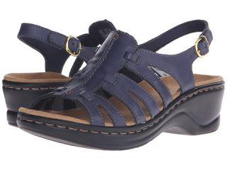 Clarks Lexi Marigold Q Navy Leather