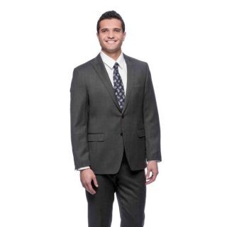 Tahari Mens Dark Grey Wool 2 button Suit   Shopping   Big