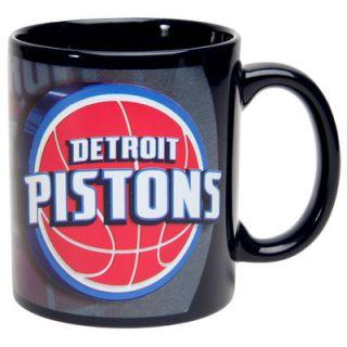 Detroit Pistons 11oz. Logo Sublimated Mug   Navy Blue