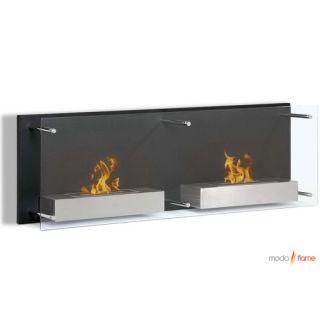 Moda Flame Faro Wall Mounted Ethanol Fuel Fireplace