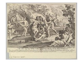 Bacchus as a child given by Mercury to the care of the Nymphs Poster Print (18 x 24)