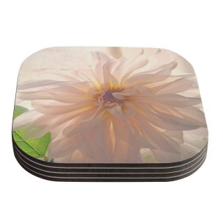 Buy Her Flowers by Robin Dickinson Coaster by KESS InHouse