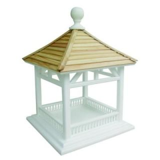 Home Bazaar Pine Shingle Roof Dream House Feeder HB 2085