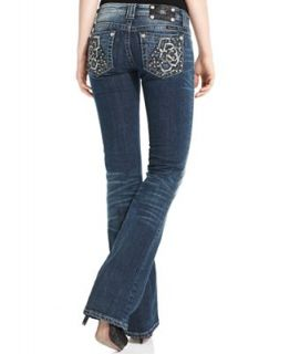 Miss Me Jeans, Dark Wash Rose Bootcut   Jeans   Women