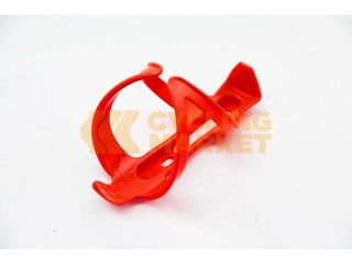 Bike Bicycle Cycling Plastic Water Bottle Cage Red road