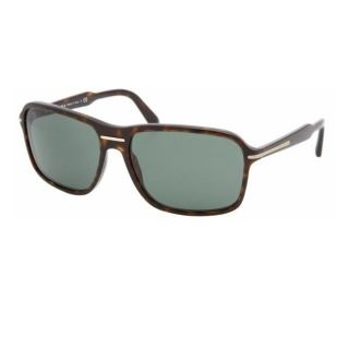 Prada Womens Havana Plastic Fashion Sunglasses